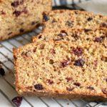 Cranberry Bread Recipe slices
