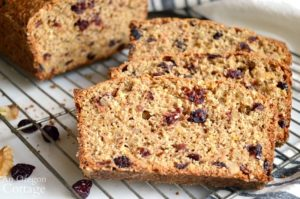 Cranberry Bread Recipe slices