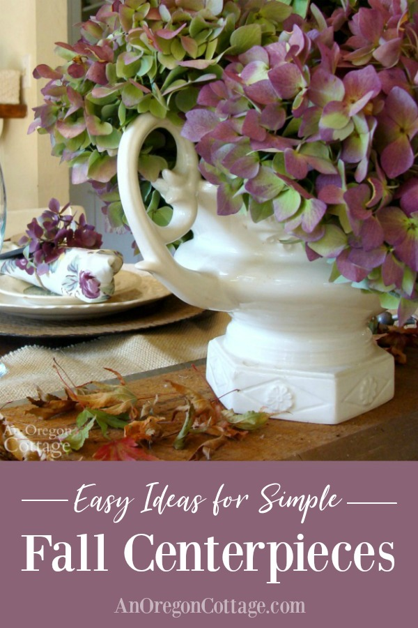 Easy Ideas for Simple Fall Centerpieces