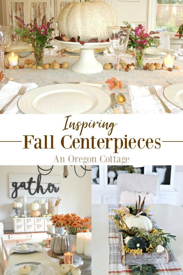 Inspiring Fall Centerpieces