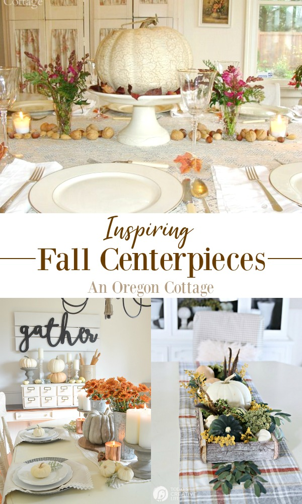 Inspiring Fall Centerpieces