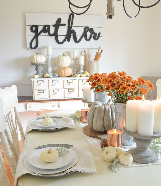 Little Vintage Nest-Farmhouse-Fall-Table