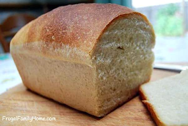 White Bread Recipe without Eggs