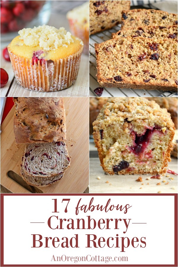 17 fabulous cranberry bread recipes