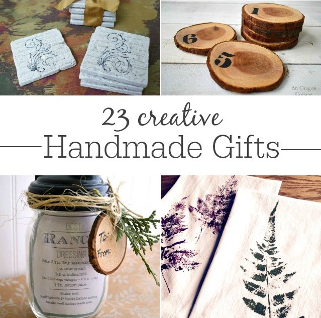 23 creative handmade gift ideas collage