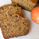 Applesauce Spice Bread slices