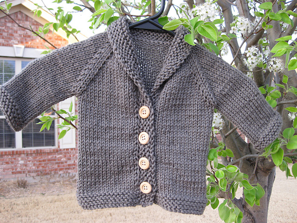 Baby Sophisticate Knitted Cardigan-Ravelry