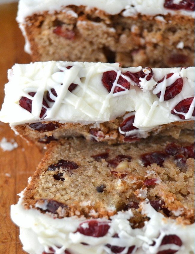 Cranberry Bread Recipes-Cranberry Bliss Bread