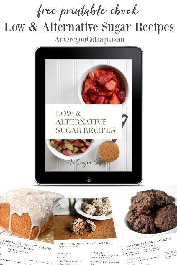 Free Ebook-low-alternative sugar recipes