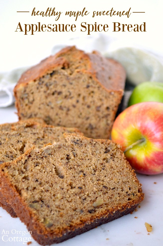Healthy Applesauce and Spice Bread Recipe