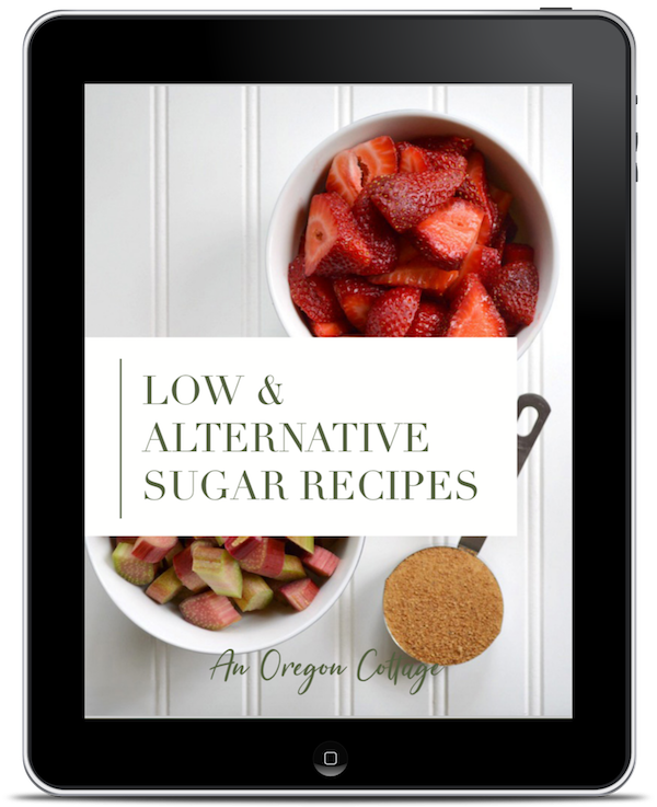 Low-Alternative Sugar Recipes ebook on ipad