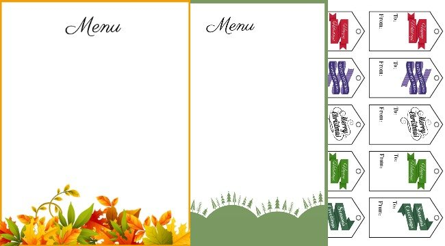 New printables 2019 holiday planner