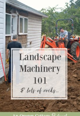 Podcast Ep. 44: Landscape Machinery 101, Boulders, Updates & Fall's Caramel Dip
