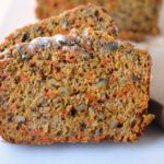 Spiced Carrot Bread Recipe-slice