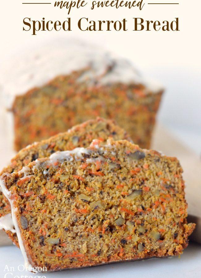 Spiced Carrot Bread Recipe