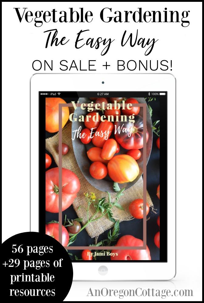 Vegetable Gardening the Easy Way ebook sale