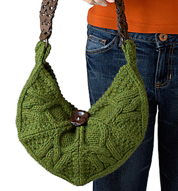 Knitted Gift- brea knit purse pattern-Berroco