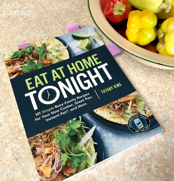 eat at home tonight cookbook