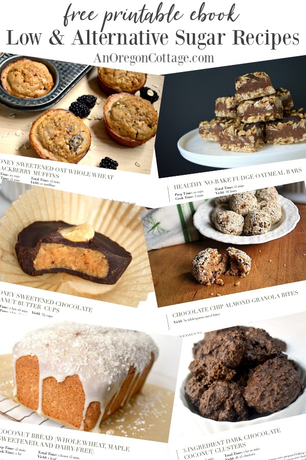 Low Sugar Recipes pages from free ebook