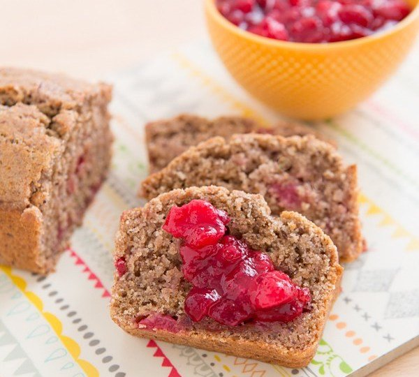 Recipes using cranberry sauce-leftover cranberry sauce bread