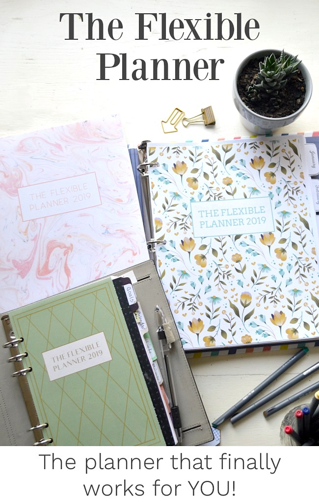 2019 Flexible Planner Covers