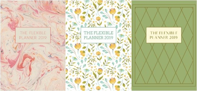 3 Flexible Planner Covers-2019