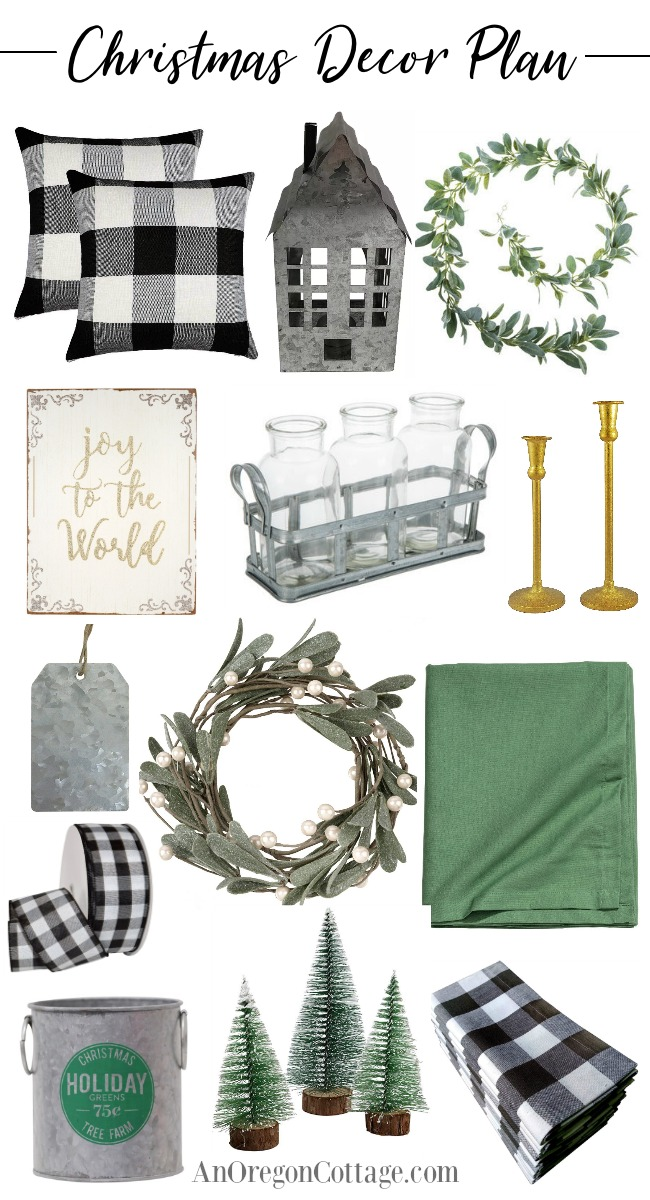Christmas decor plan 2018