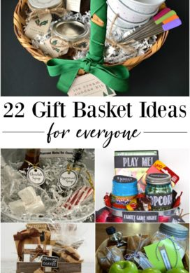 22 Gift Basket Ideas for everyone