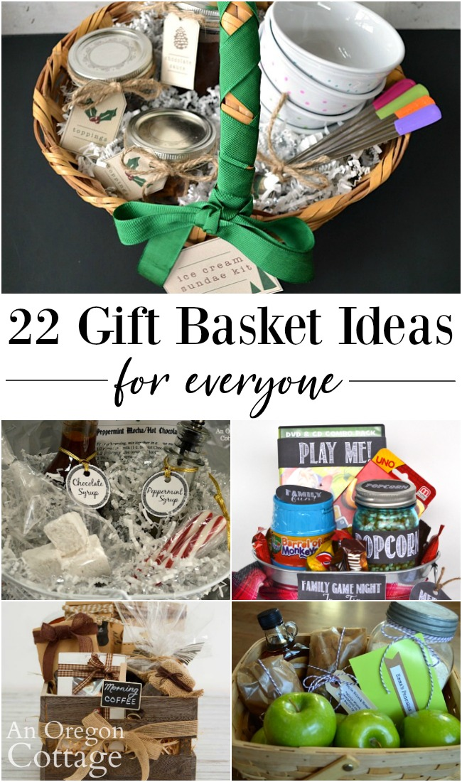 22 Diy Gift Basket Ideas For Everyone An Oregon Cottage