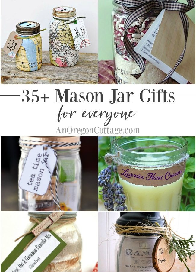 Gifts in a jar-mason jar gifts for everyone