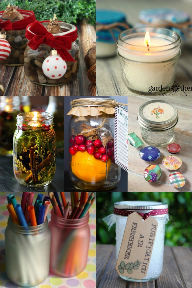 Home Gifts in a Jar-Mason Jar Gifts
