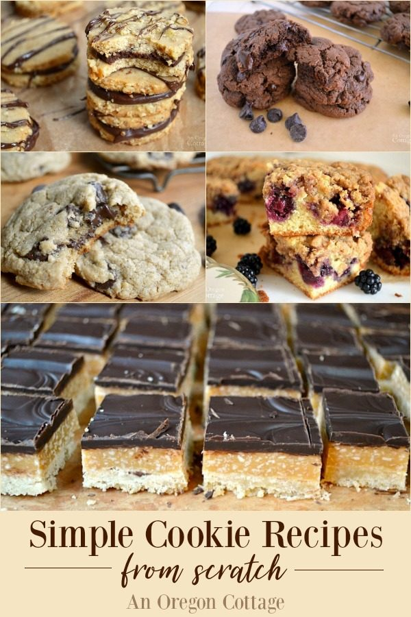 Simple Cookie Recipes from scratch