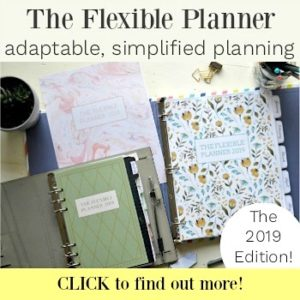 The Flexible Planner 20189