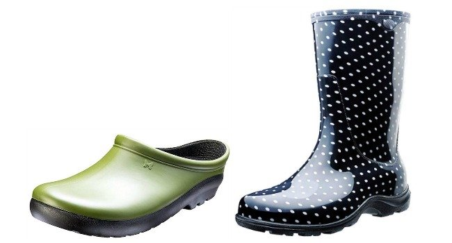 Gardening clogs and boots