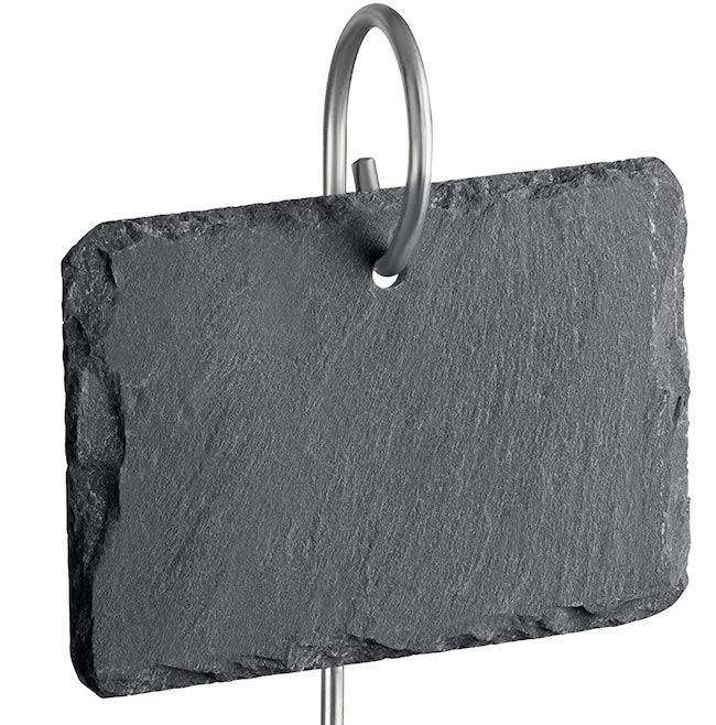 Slate Plant Labels with hanging rod