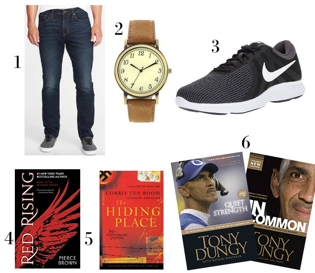 2018 Favorite Things Gift Guides for Men-Clothes-Books