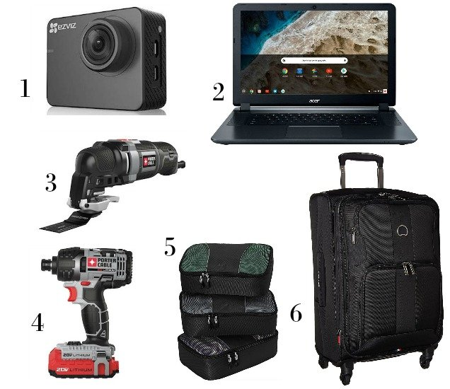 2018 Favorite Things Gift Guides for Men-Electronics-Tools-Travel