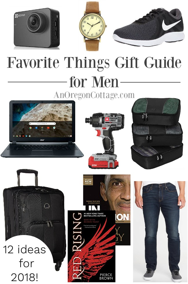 2018 Favorite Things Gift Guides for Men