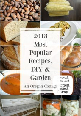 2018 most popular posts from An Oregon Cottage