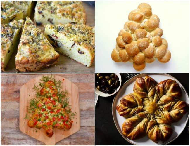 4 Savory Christmas Bread Recipes