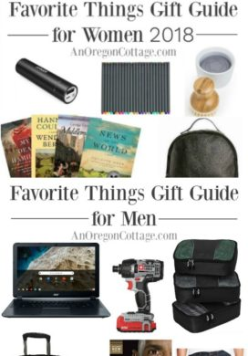 Favorite things gift guides for women and men