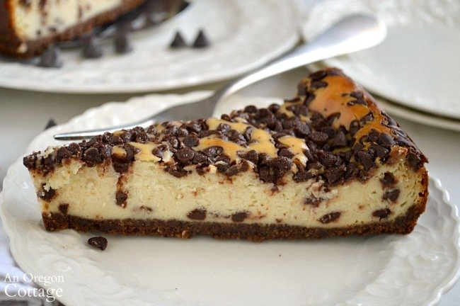 Foolproof Chocolate Chip Cheesecake