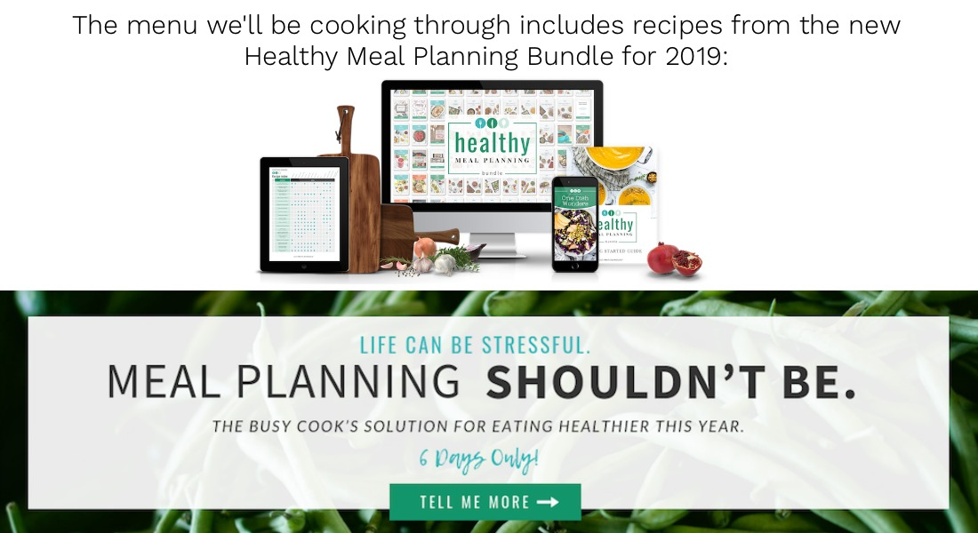 Menu Challenge-meal planning bundle pg