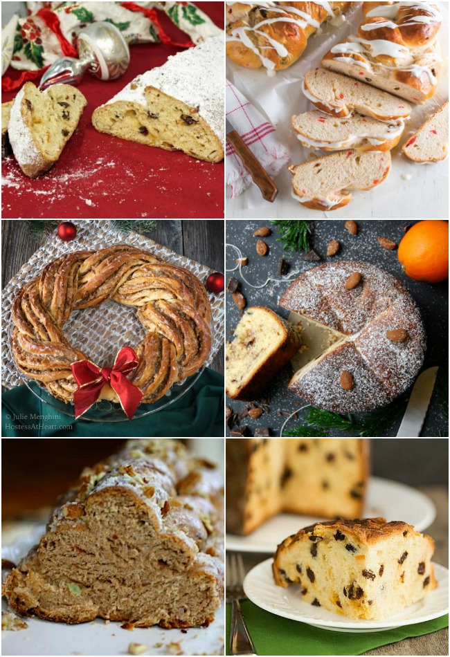 Shaped Christmas Bread Recipes