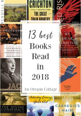 13 best books read in 2018