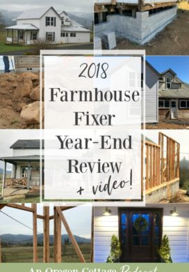 Podcast Ep.49-Farmhouse Fixer Year End Review and Video