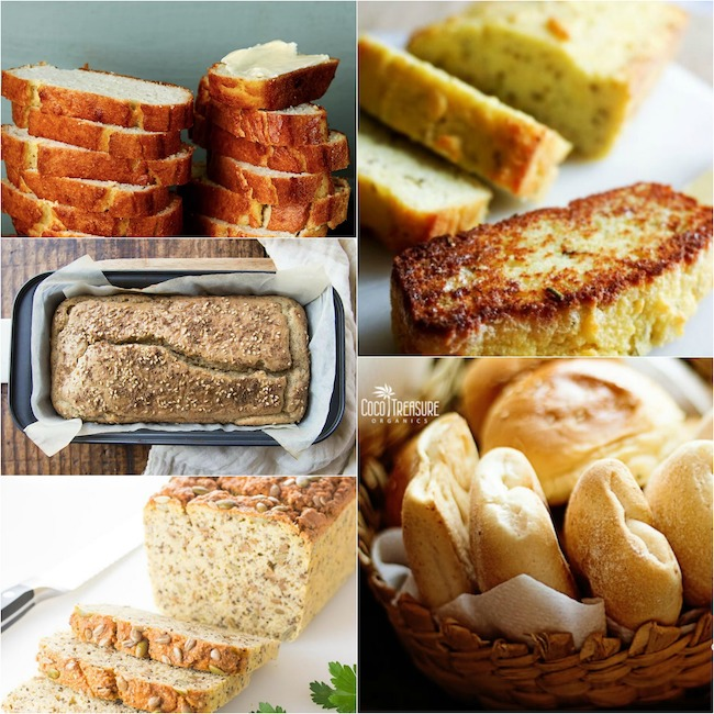 Savory bread recipes with coconut flour