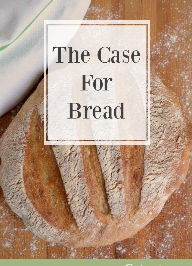 The Case for Bread-artisan bread