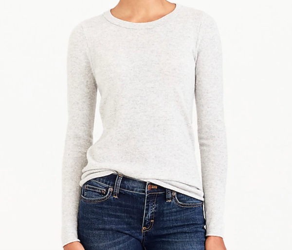 JCrew cashmere sweater