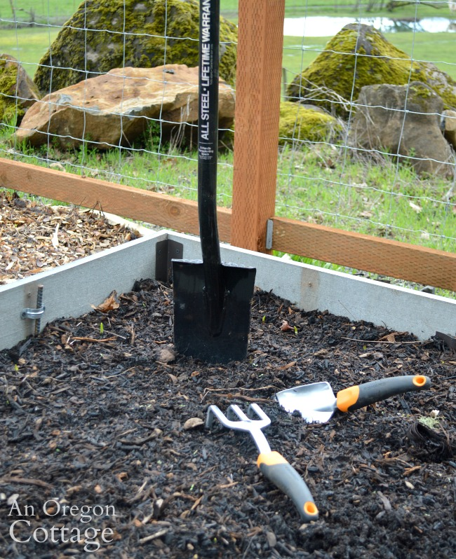 Tip for soil health with gardening tools